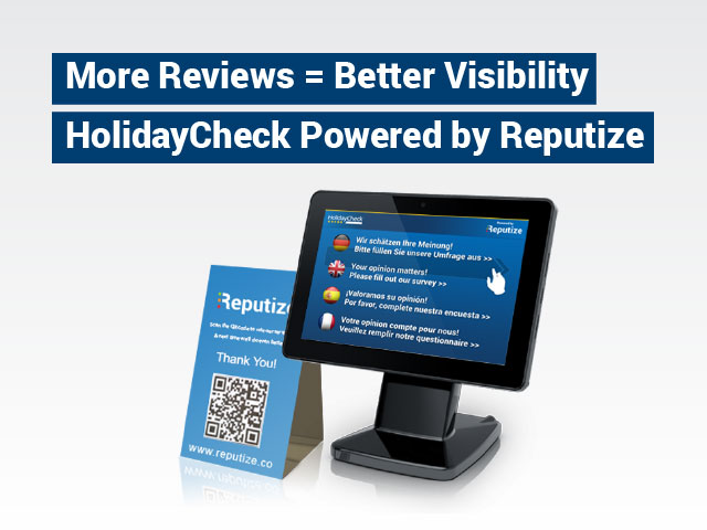 More Reviews = Better Visibility on HolidayCheck