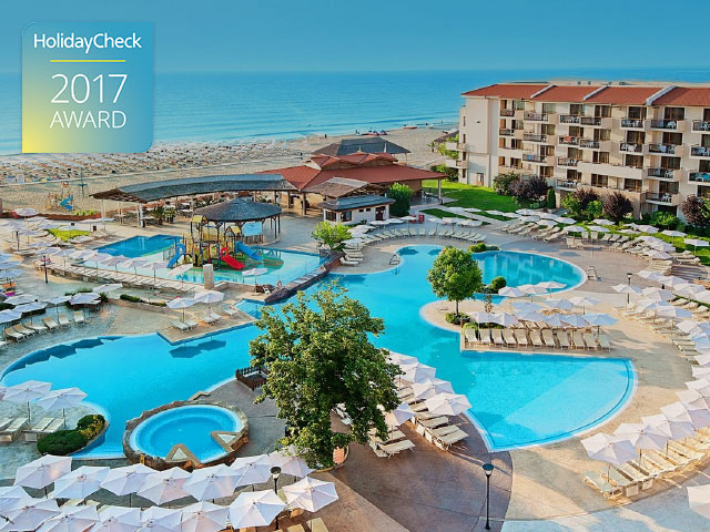 HVD Hotels Awarded as Best Bulgarian Hotels by HolidayCheck for 2017