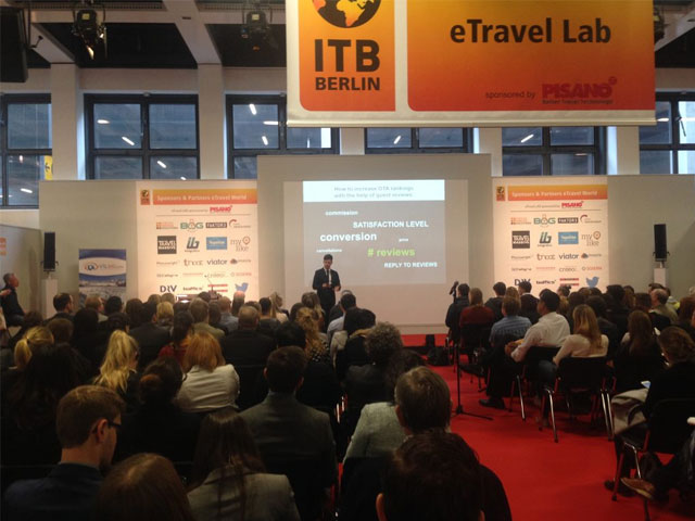 Reputize Sponsors ITB Berlin eTravel World 8-11 March 2017