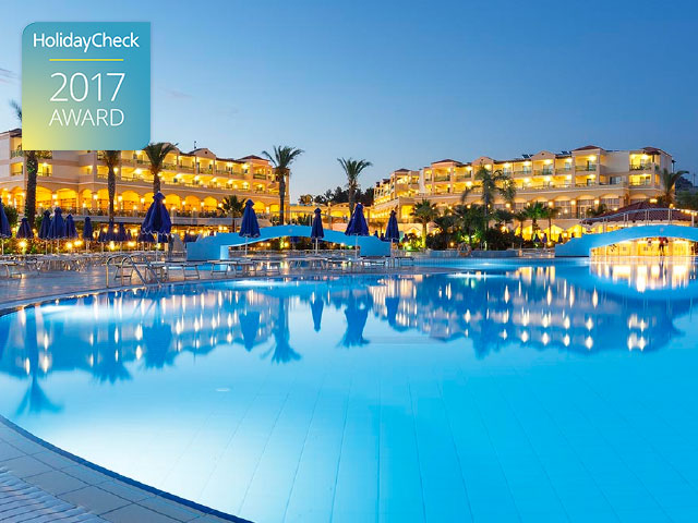 Lindos Princess Beach Hotel Secures Top Position with German Travel Agents with a HolidayCheck Award 2017