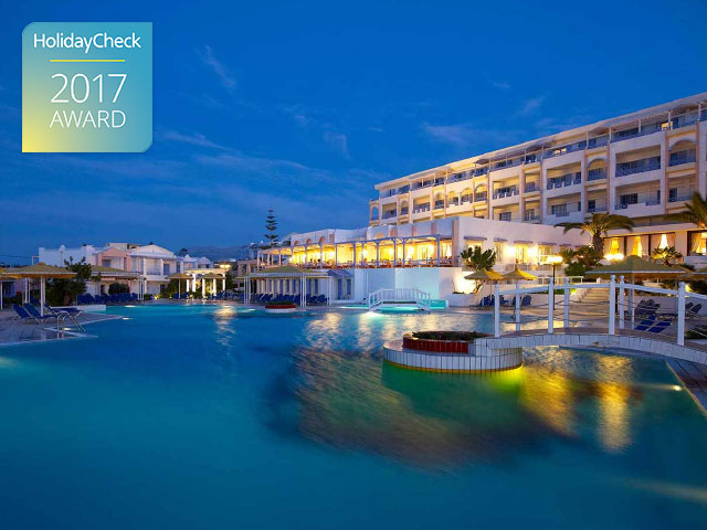 Mitsis Serita Beach Improves Guest Experience with Reputize. Receives HolidayCheck Award 2017
