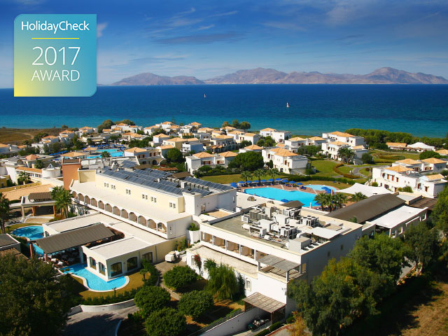 5-Star Neptune Hotel Ranks 1st in Kos Island and Wins HolidayCheck Award 2017