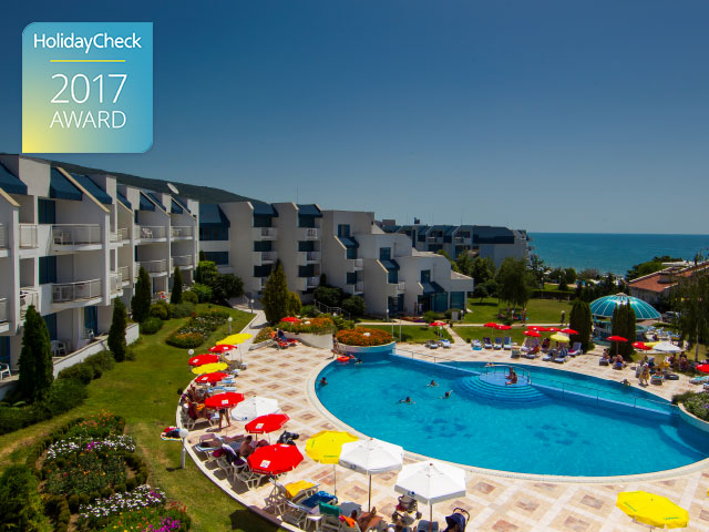 Primasol Sineva Beach Hotel Receives HolidayCheck Award 2017